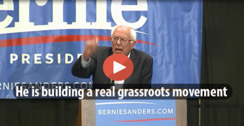 Bernie Sanders is building a real grassroots movement