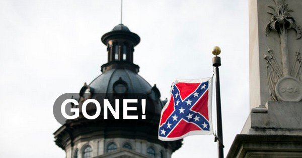 Confederate Flag Gone