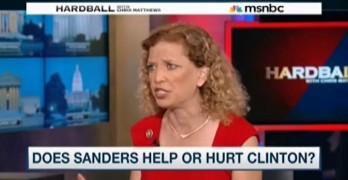 Debbie Wasserman Schultz - Bernie Sanders - Chris Matthews