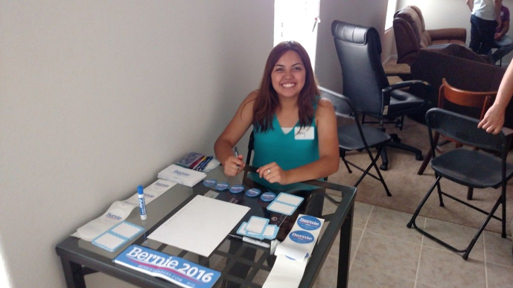Bernie Sanders House Party in Houston Texas