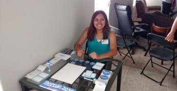 Bernie Sanders House Party in Houston Texas
