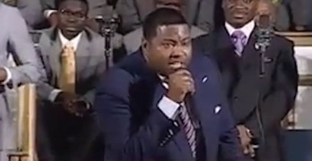 LGBT hating preachers should listen to this truth telling preacher.