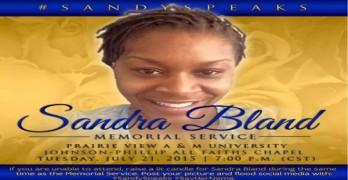Sandra Speaks Sandra Bland