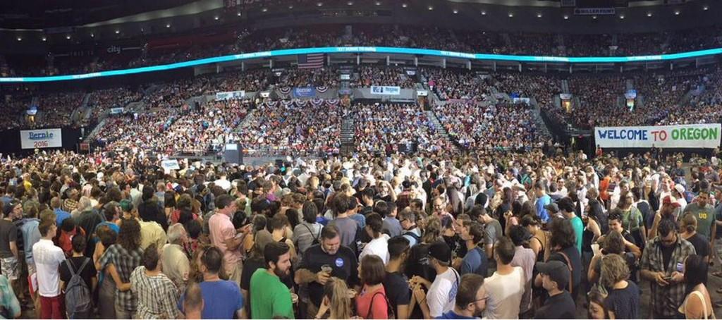 Bernie Sanders, Portland Oregon Black Lives Matter