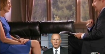 Carly Fiorina, Jerry Brown