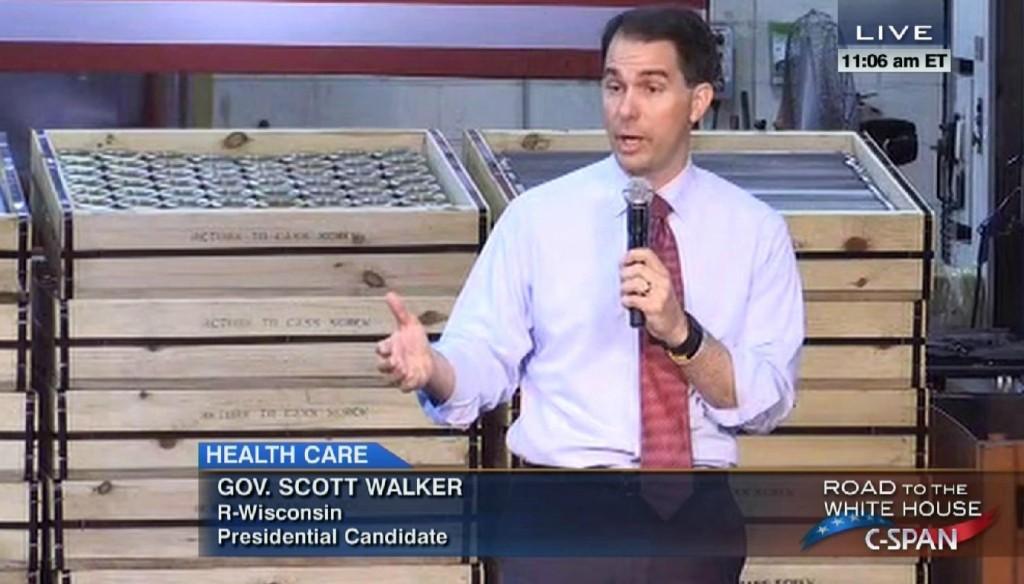 Obamacare Scott Walker