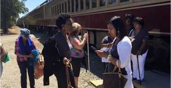 The Napa Valley Wine Train Lisa Renee Johnson Book Club Black women