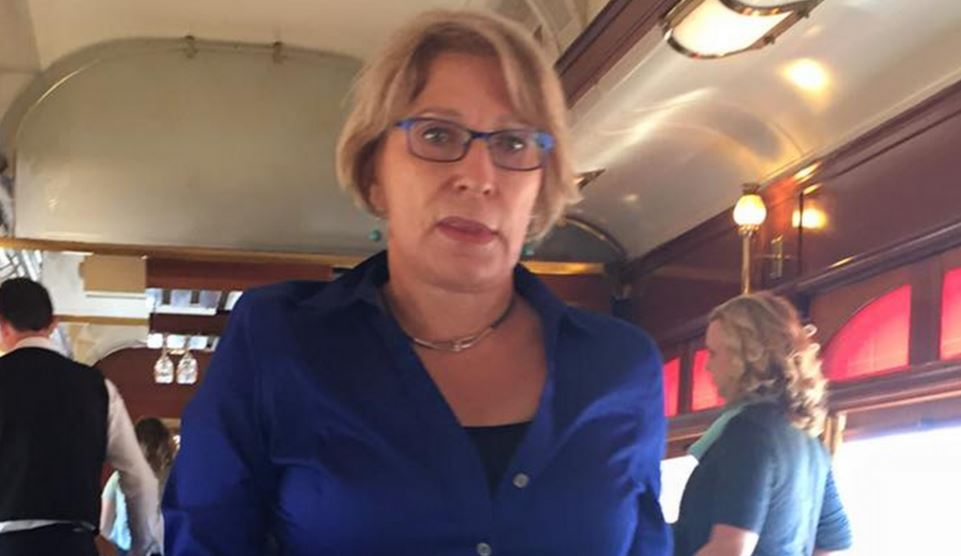 The Napa Valley Wine Train complaining white woman