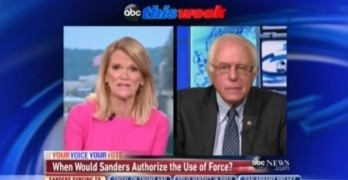 This Bernie Sanders interview proves mainstream media is the ward of the Military Industrial Complex (VIDEO)