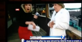 Video of WDBJ Virginia reporter Alison Parker, cameraman Adam Ward, and interviewee shooting