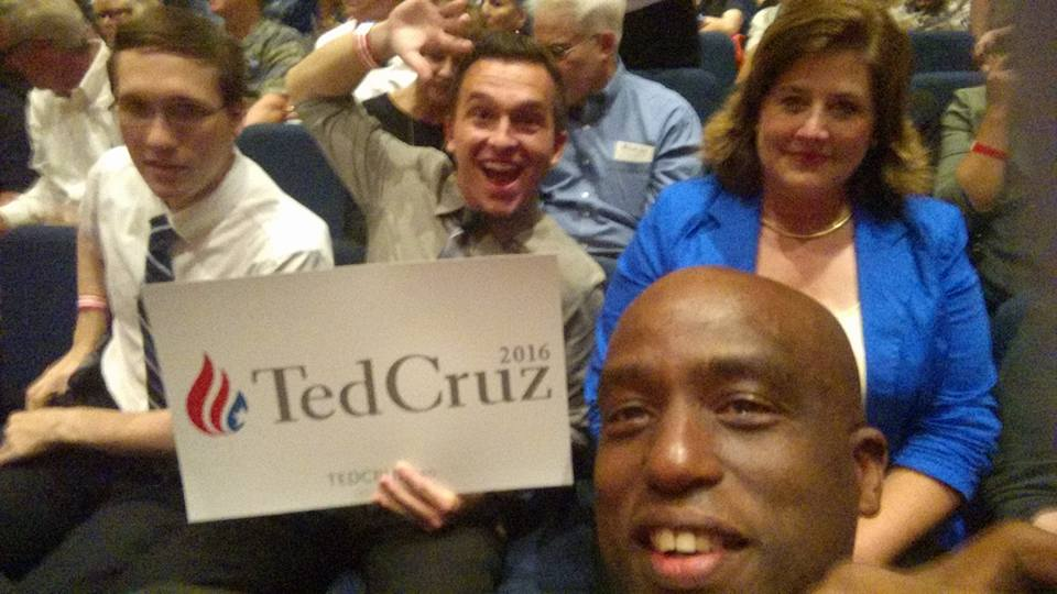 Ted Cruz, Tea Party, Kingwood, Texas