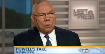 Colin Powell explains why he supports the Iran Nuclear Deal
