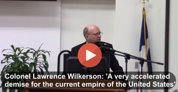 Colonel Lawrence Wilkerson, Empire, United States