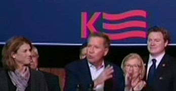 GOP Presidential Candidate John Kasich goes ballistic - What has happened to our Party