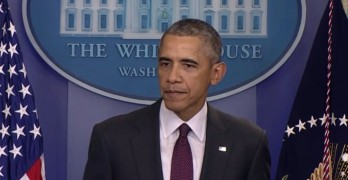 President Obama adresses mass shooting at community college in Roseburg Oregon
