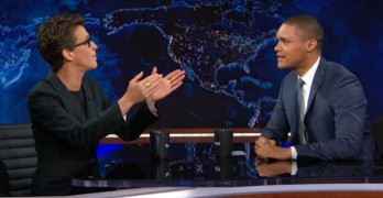 Rachel Maddow on The Daily Show with Trevor Noah