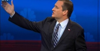 Ted Cruz got one thing right at the Republican Debate.