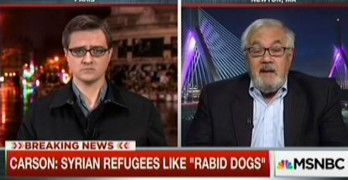 Barnie Frank slams American anti-refugee intolerance with interesting facts (VIDEO).
