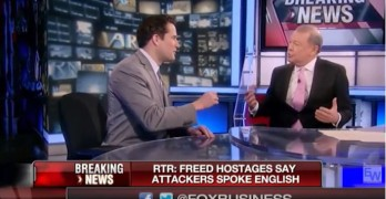 Democrat shows how to win the argument on Fox News Bully Stuart Varney's show.