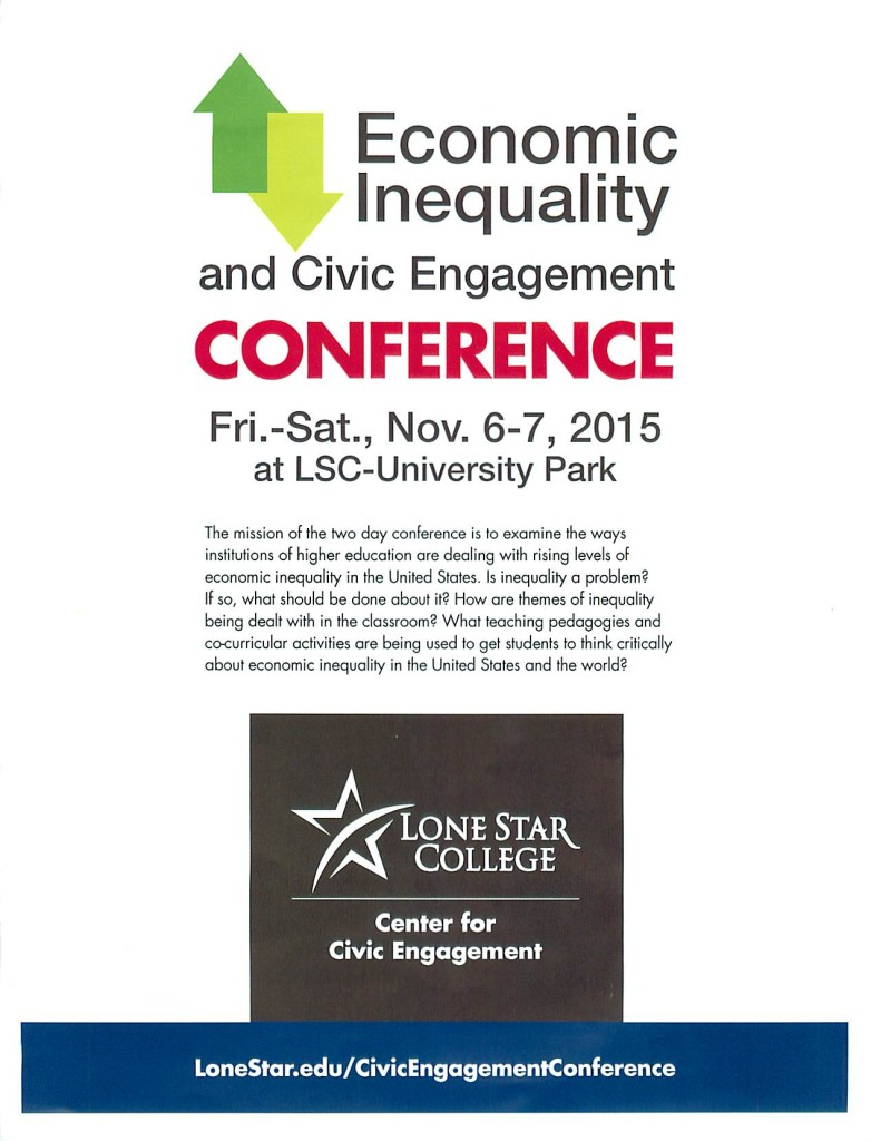 Economic Inequality and Civic Engagement Conference 1