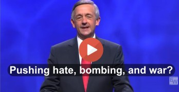 Is Pastor Robert Jeffress not advocatng the same kind of evil as ISIS