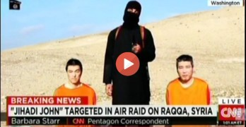 Jihadi John presumably killed with a drone strike