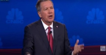 John Kasich's statement about running mates summed up the Republican debate
