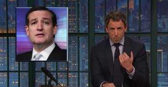 Seth Meyers uses Ted Cruz's words to show his father would fail refugee screening (VIDEO)