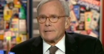 Tom Brokaw has gone neocon crazy - We are at war.