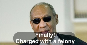 Bill Cosby charged with a felony sex assault