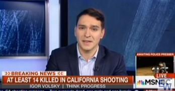 Igor Volsky San Bernardino mass shooting