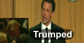Seth Meyers making fun of Donald Trump - It still applies today