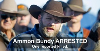 Ammon Bundy Arrested Burns Oregon 2