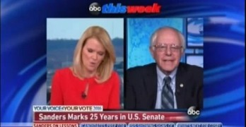 Bernie Sanders challenges Martha Raddatz on ThisWeek.