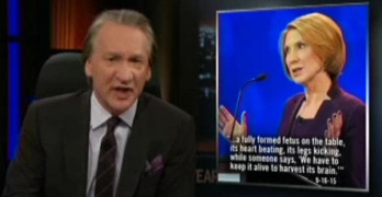Bill Maher Calls out Republicans for making stuff up