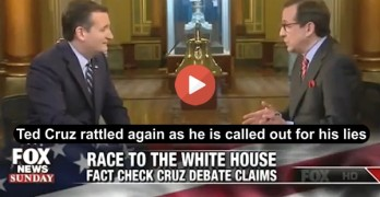 Fox News' Chris Wallace destroys Ted Cruz on his Obamacare lies