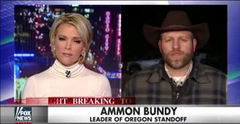 Fox News Megyn Kelly embarrasses Ammon Bundy about seditious occupation.
