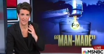 Rachel Maddow - This mass poisoning in Flint Michigan should be huge story (VIDEO)