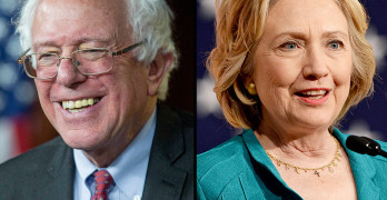 Bernie Sanders Hillary Clinton Socialist Democrat