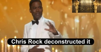 Chris Rock Hollywood Oscar