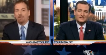 Chuck Todd calls out Ted Cruz's alternate state of reality and he blinks (VIDEO)