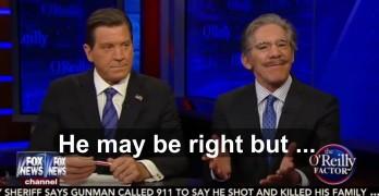 Geraldo Rivera on Bill O'Reilly - GOP platform is a suicide complex
