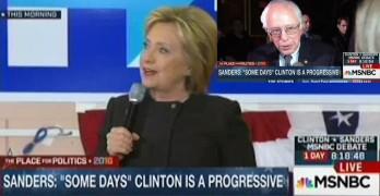 Hillary Clinton plays victim card on Bernie Sanders, Again