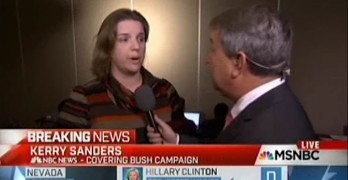 Jeb Bush supporter said she would vote for Clinton or Sanders over Donald Trump (VIDEO)