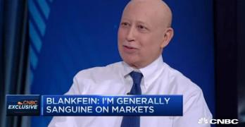 Lloyd Blankfein Goldman Sachs CEO on Bernie Sanders