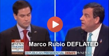 Marco Rubio deflated