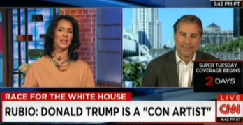 Rubio spokesman calls out CNN anchor for entertainment style coverage (VIDEO)