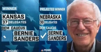 Bernie Sanders wins Nebraska and Kansas