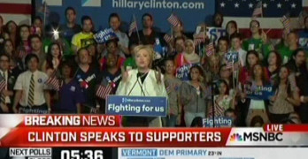 Hillary Clinton Super Tuesday Speech