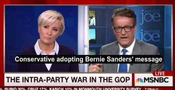 Scarborough slams GOP and adopts Bernie Sanders message (VIDEO)